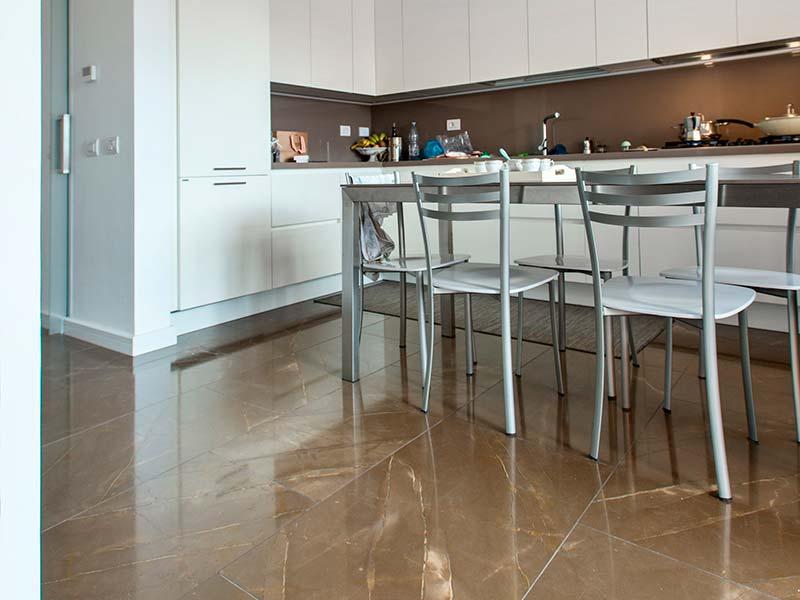 Sgrassare pavimento cucina - Mattonelle pavimento cucina ...
