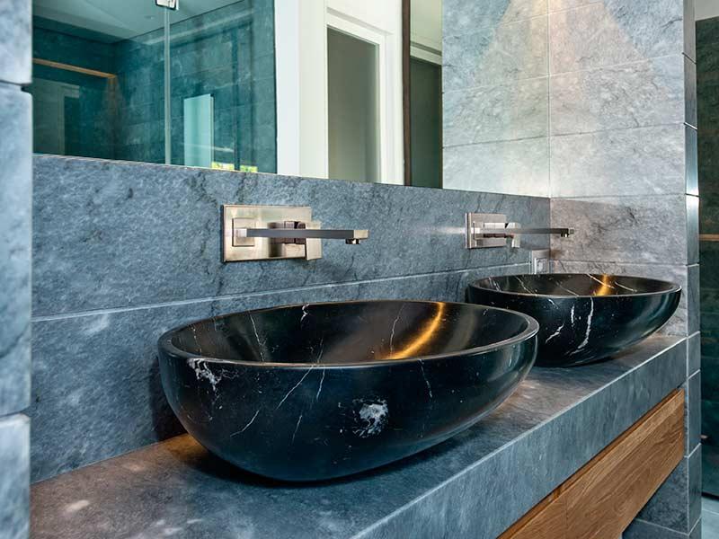 Bagni In Marmo Nero : Bagni in marmo realizzati da artemarmi