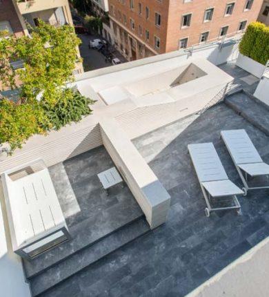Roof Garden Marmo Roma