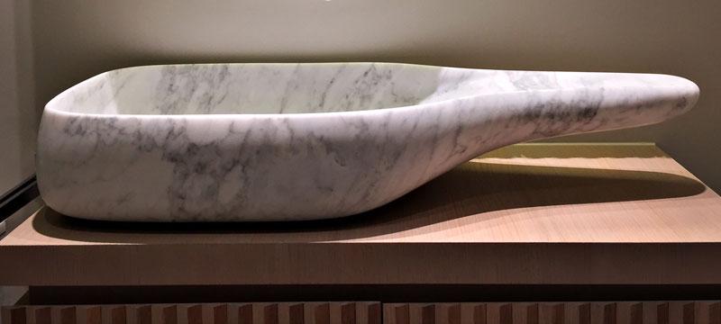 Lavabo Blocco Unico Marmo