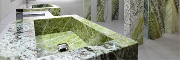 Bagno Marmo Irish Green Artemarmi