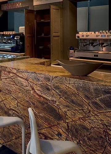Bancone Bar in Marmo