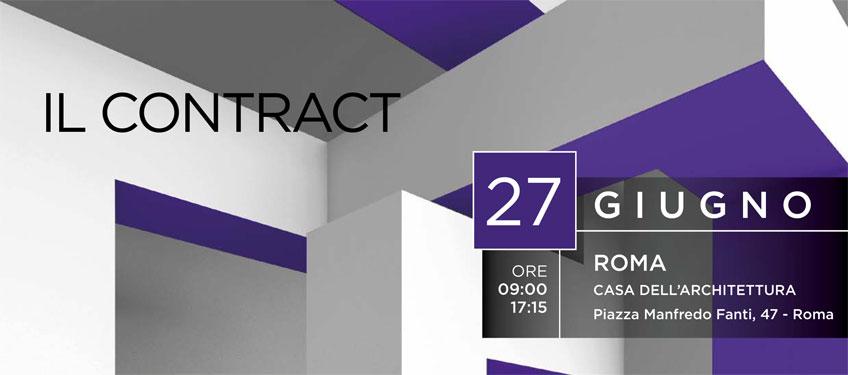 Il Contract Evento Casa Architettura Roma