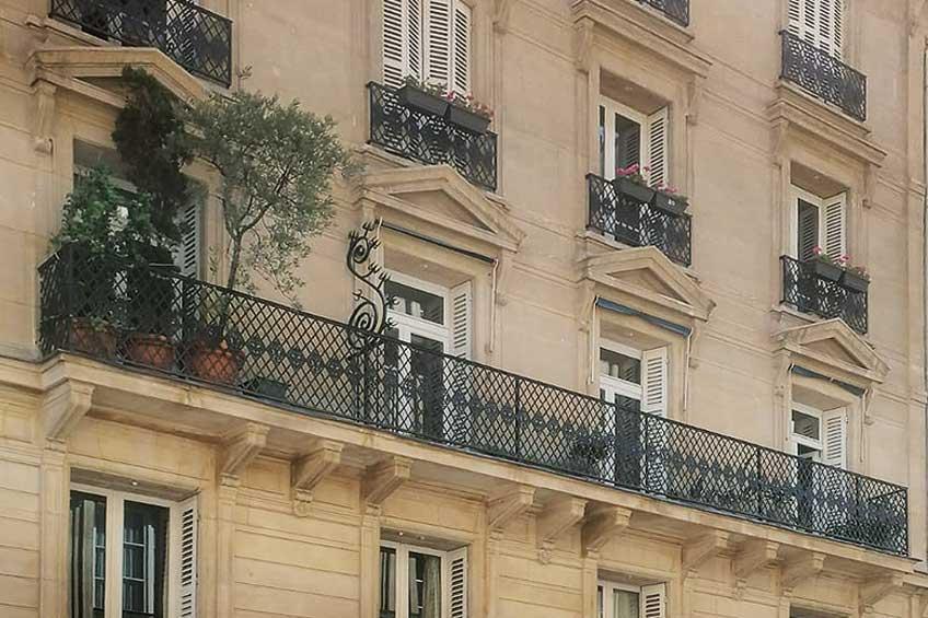 Le belle facciate parigine